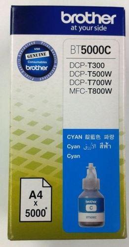 Brother BT-5000C cyan originální inkoustová náplň modrá BT5000C