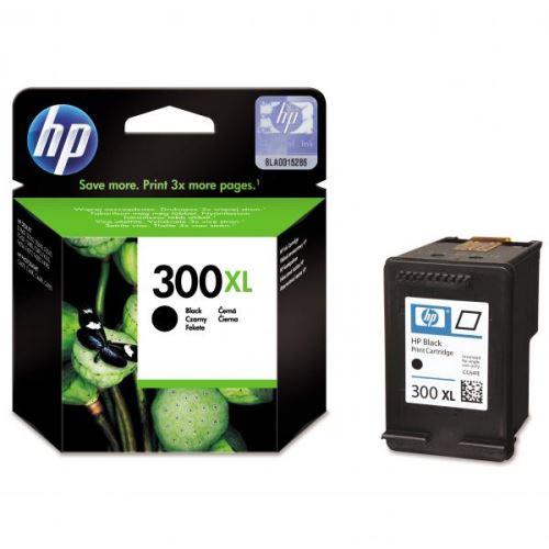 HP 300XL Black originální inkoustová náplň černá CC641EE