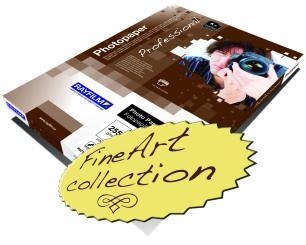 Rayfilm R0262 matný fotopapír FineArt Cotton A3 190g 50 listů