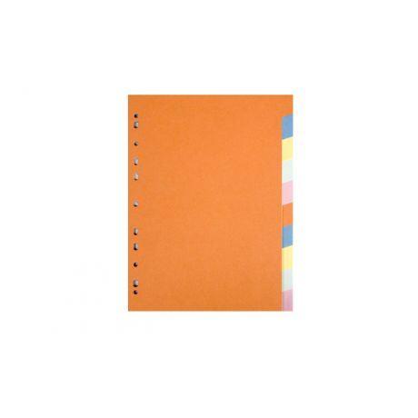 Rozdružovač A4 barevný Classic 6-dílný