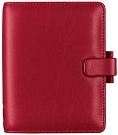 Diář Filofax Metropol formát A7 červený red