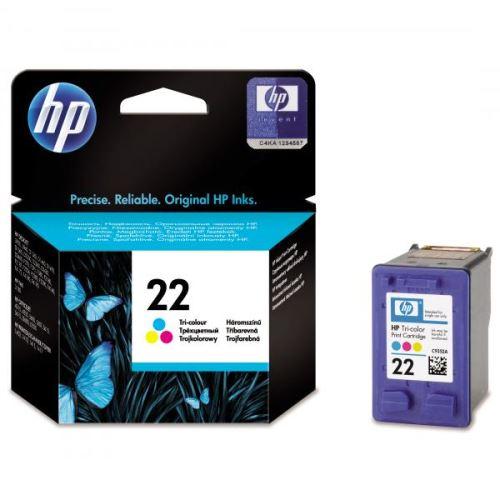 HP C9352A No.22 Color originální inkoustová náplň barevná 138s