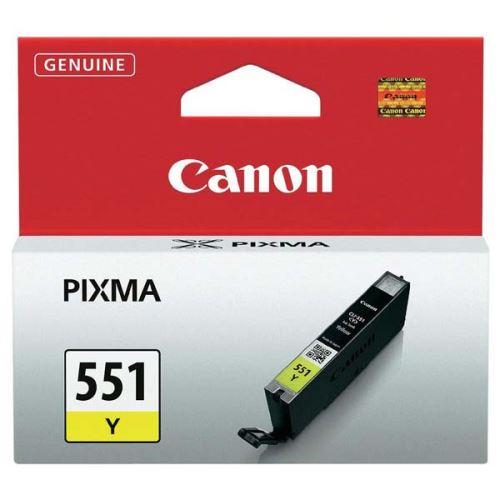 Canon CLI-551Y Yellow originální inkoust žlutý