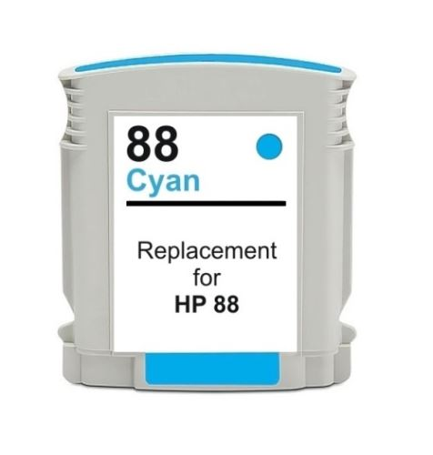 HP 88 XL Cyan kompatibilní inkoustová náplň modrá C9391A