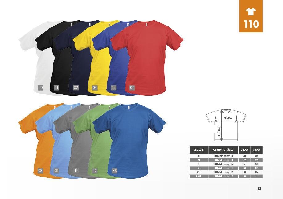 Gents Heavy pánské triko s krátkým rukávem  43588f0470