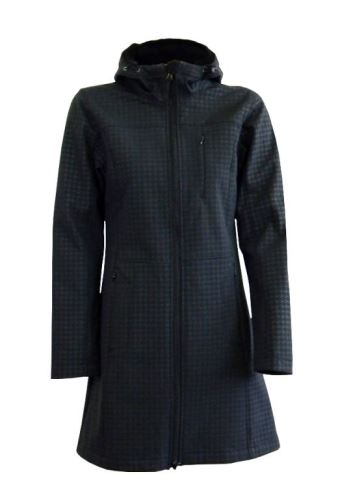 Dámský softshellový kabát s kapucí 0717 černý pepito S