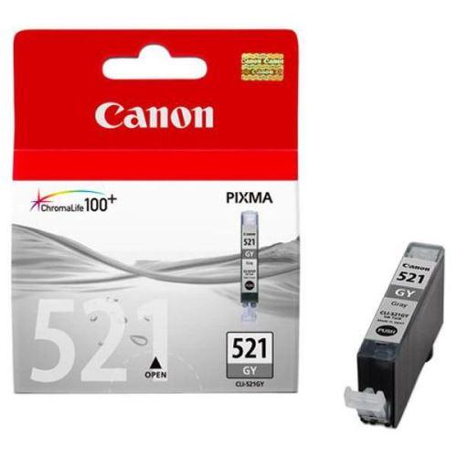 Canon CLI-521GY originální inkoust šedý
