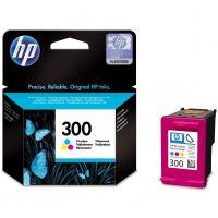 HP 300 Color originální inkoustová náplň barevná CC643E