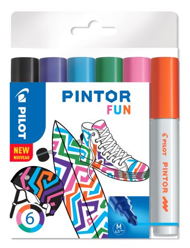 Pilot Pintor Medium sada Fun