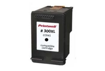 HP 300 XL kompatibilní černá náplň CC641E