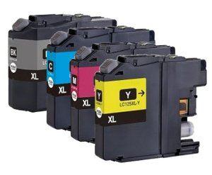 Brother LC-123XLC Cyan kompatibilní inkoustová náplň modrá