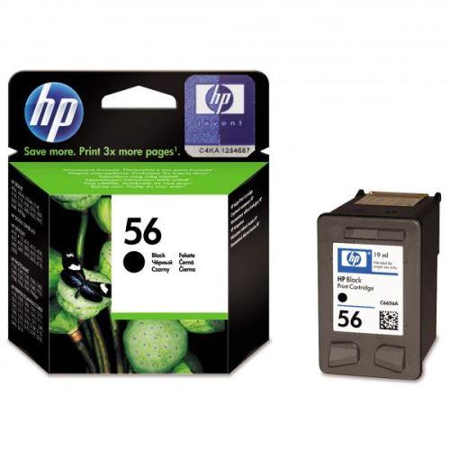 Originál barva HP C6656A No.56 Black černá
