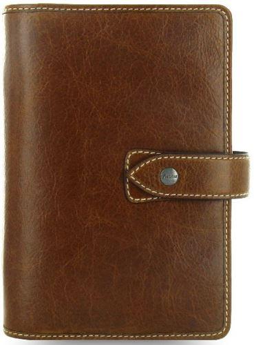 Diář Filofax Malden formát A6 hnědý brown