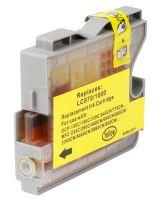Brother LC970 LC1000 Yellow kompatibilní inkoustová náplň žlutá LC-970 LC-1000