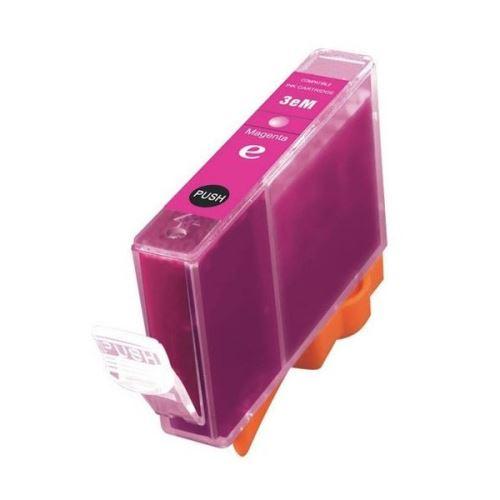 Canon BCI-6M BCI-3eM Magenta kompatibilní inkoustová náplň červená