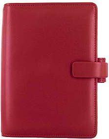 Diář Filofax Metropol formát A6 červený red