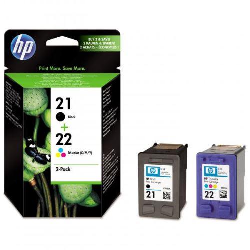 Originál barva HP SD367A C9351A No.21+C9352A No.22 Black+Color