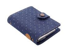 Filofax Denim Dots A7 Pocket denim diář kapesní organizér 1