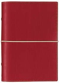 Diář Filofax Domino formát A6 červený red