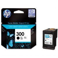 HP 300 černá originální inkoustová náplň CC640EE