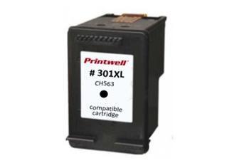 HP CH563EE No.301XL Black kompatibilní náplň černá