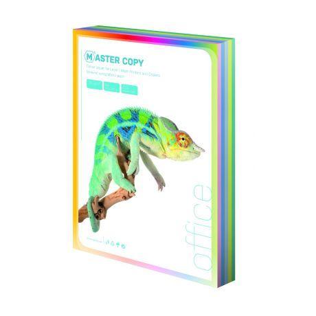 Ofsetový papír A4 colour Master světlá duha mix 5 barev 500 listů