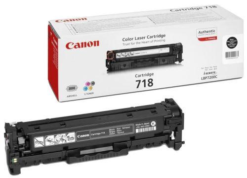 Canon CRG-718 Black originální toner černý