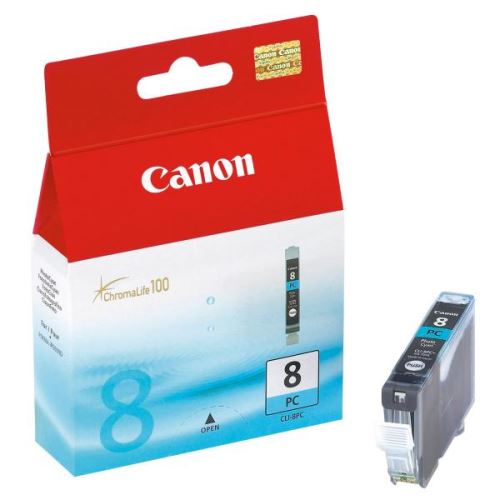Canon CLI-8PM photo magenta originální inkoustová náplň foto červená