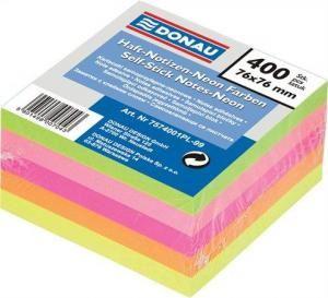 Samolepící bloček 76x76mm neon mix
