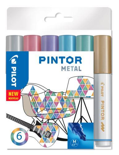 Pilot Pintor Medium sada Metal