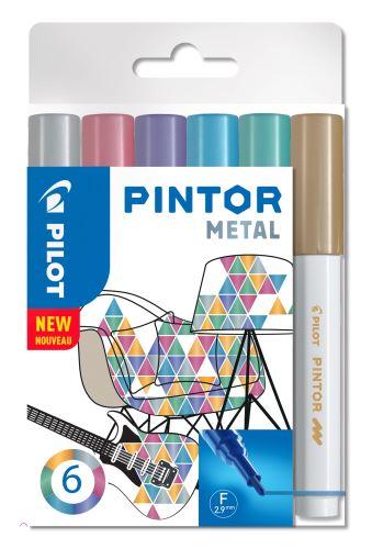 Pilot Pintor Fine sada Metal