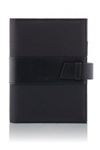 ADK diář MANAGER A5 černý plánovací systém