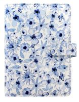 Filofax Indigo Floral A6 Personal osobní