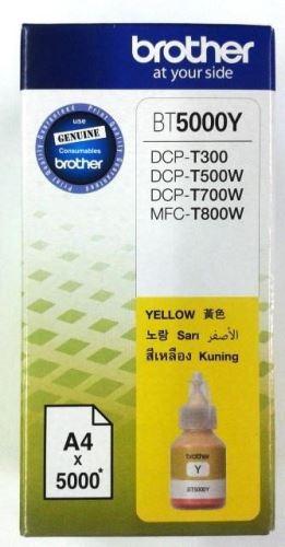 Brother BT-5000Y yellow originální inkoustová náplň žlutá BT5000Y
