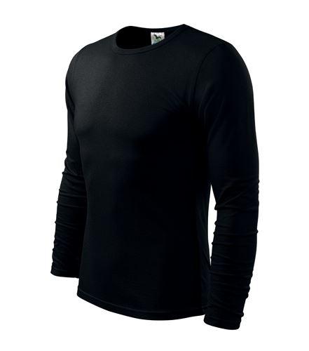 Triko pánské FIT-T Long Sleeve dlouhý rukáv černé