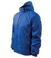 Bunda pánská Jacket Active odepínací kapuce královská modrá L
