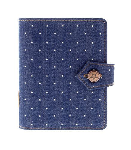 Filofax Denim Dots A7 Pocket kapesní diář