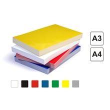 Papírové kartonové desky Chromolux A4 bílé 250g