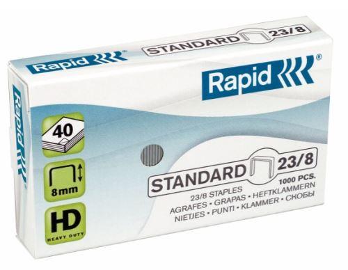 Drátky do sešívačky Rapid Standard 23/8 1000ks