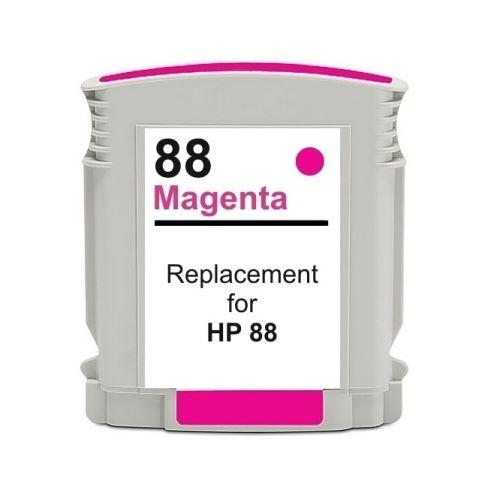 HP 88 XL Magenta kompatibilní inkoustová náplň červená C9392A