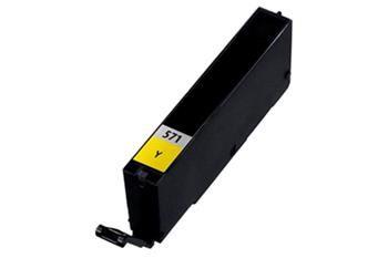 Canon CLI-571Y XL žlutá kompatibilní inkoustová náplň