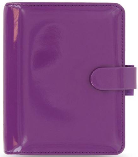 Filofax Patent A7 Pocket fialový diář kapesní