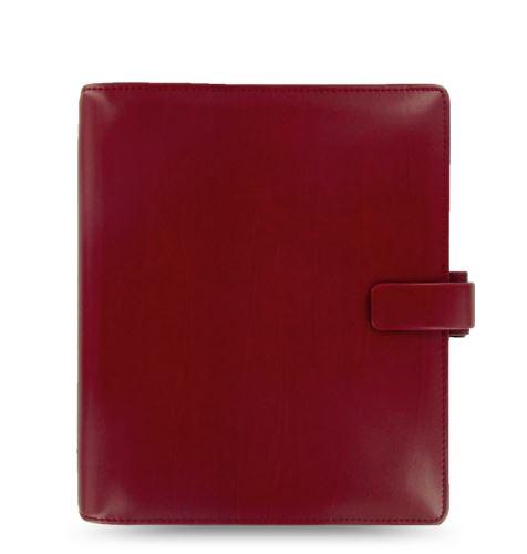 Diář Filofax Metropol formát A5 červený red
