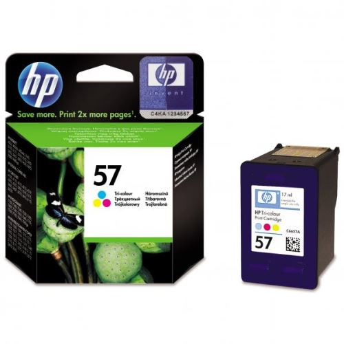 Originál barva HP C6657A No.57 Color barevná