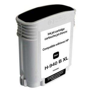 HP C4906AE 940XL Black kompatibilní náplň černá