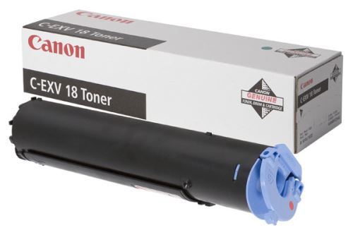 Toner Canon C-EXV18 black originální černý