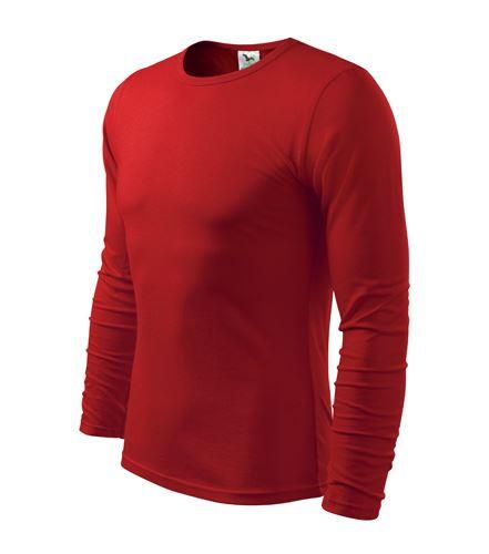Triko pánské FIT-T Long Sleeve dlouhý rukáv červené