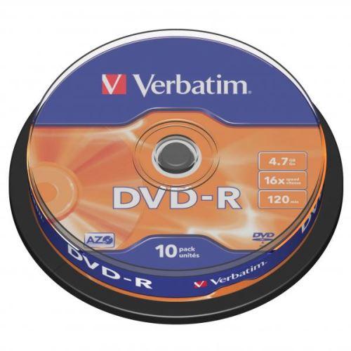 Verbatim DVD-R  4.7GB 10-Pack Spindle 43523
