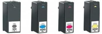 Lexmark 100XL 14N1094 kompatibilní náplň červená