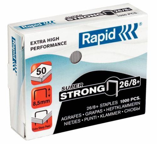 Drátky do sešívačky Rapid Super Strong 26/8+ 5tis. ks